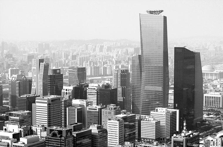 Cityscape Seoul